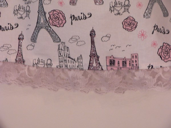 Paris Pillowcase Dress