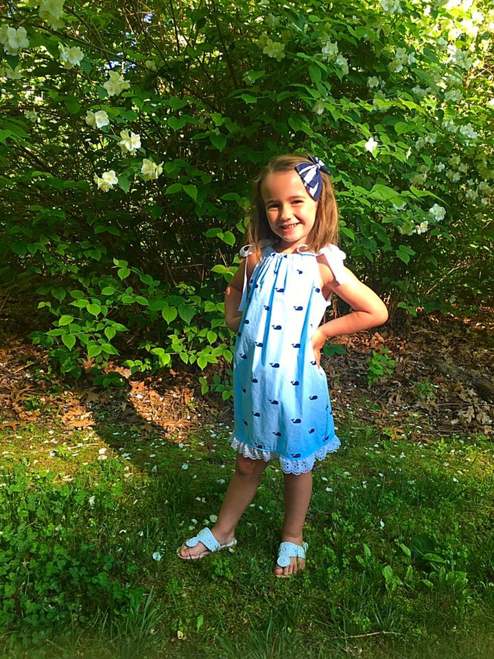 Whale Pillowcase Dress