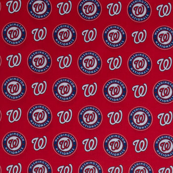 Washington Nationals Fabric for Masks