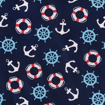 Nautical Fabric for Masks