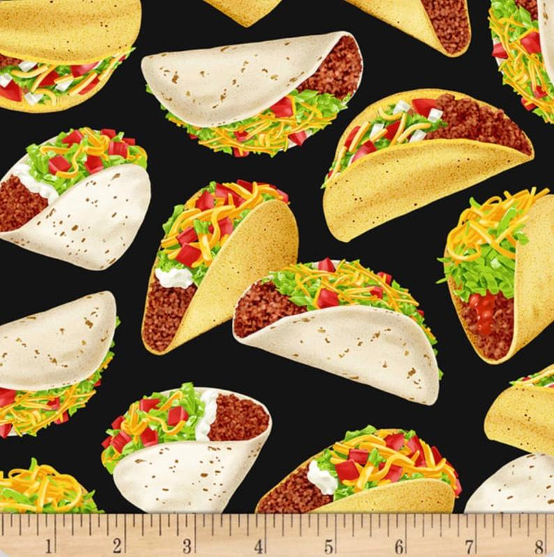 Taco Fabric for Masks