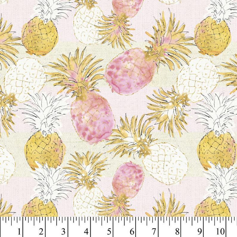 Pineapple Fabric for Masks