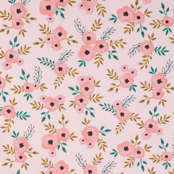 Poppy Fabric for Mask