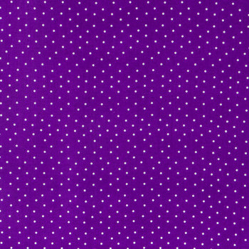 Purple Dot Fabric for Masks