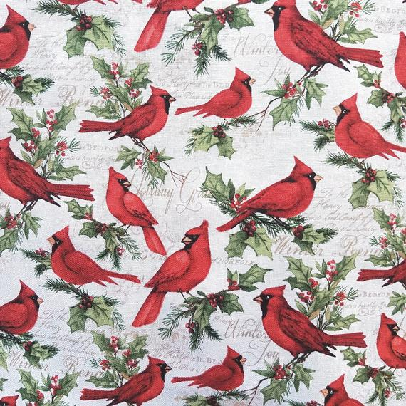Cardinal Fabric for Masks