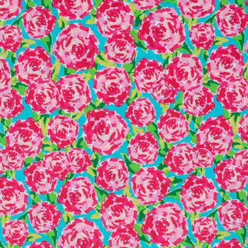 Rose Fabric for Mask